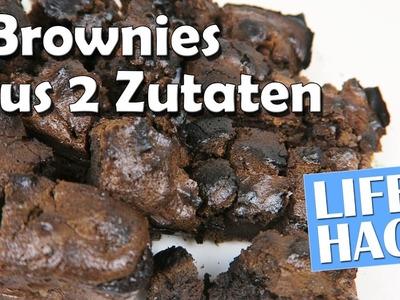 Brownies aus 2 Zutaten - Lifehack | DIY