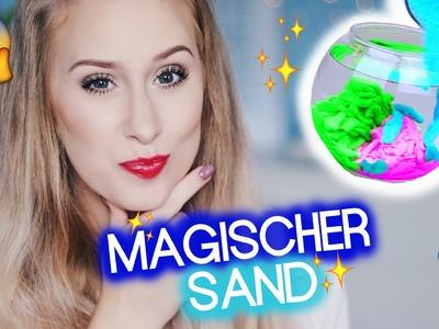 DIY MAGISCHER SAND im Test I Pinterest DIY I Maren Vivien