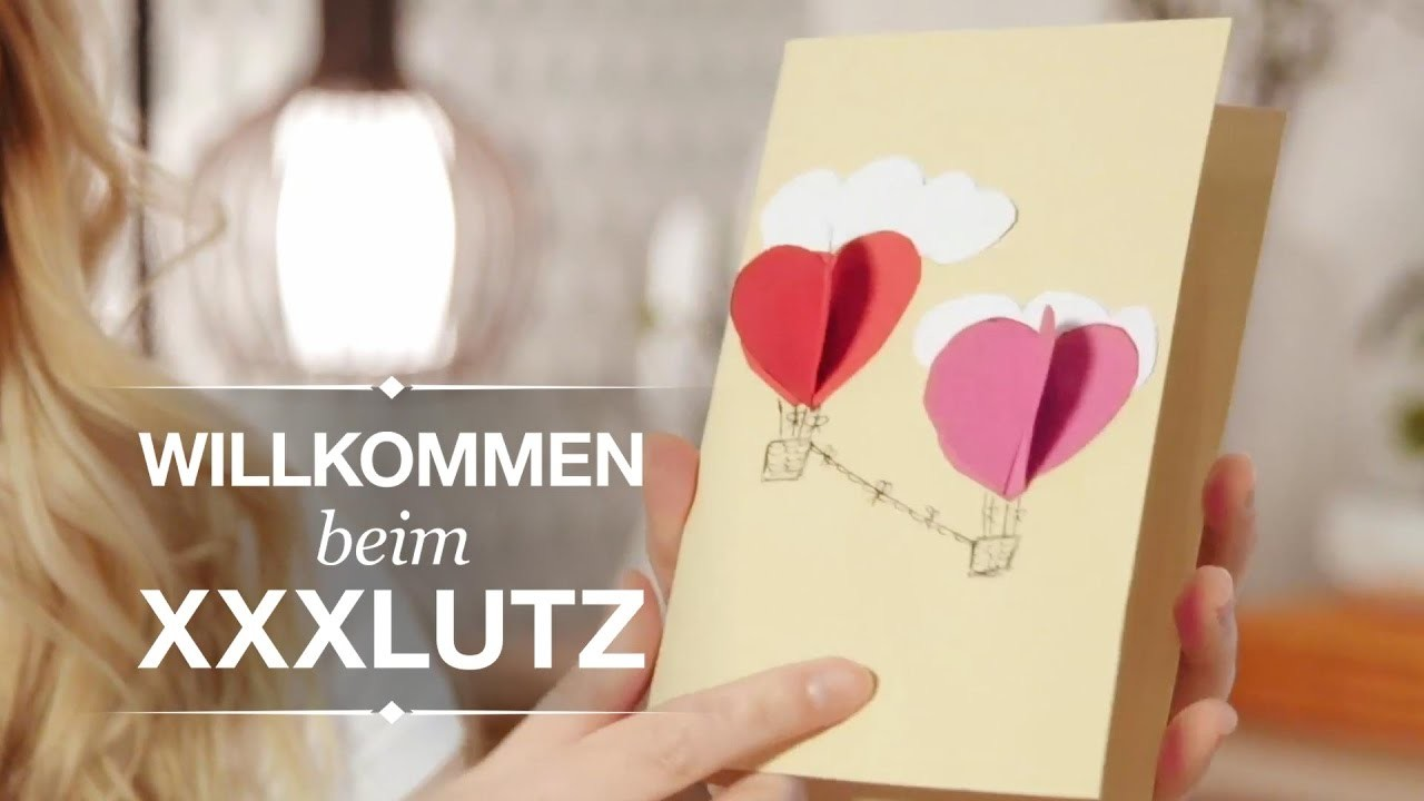 DIY Valentinstagskarte - XXXLutz Inspiration