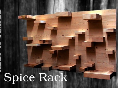 MACHS EINFACH: Gewürzregal | DIY Spice Rack