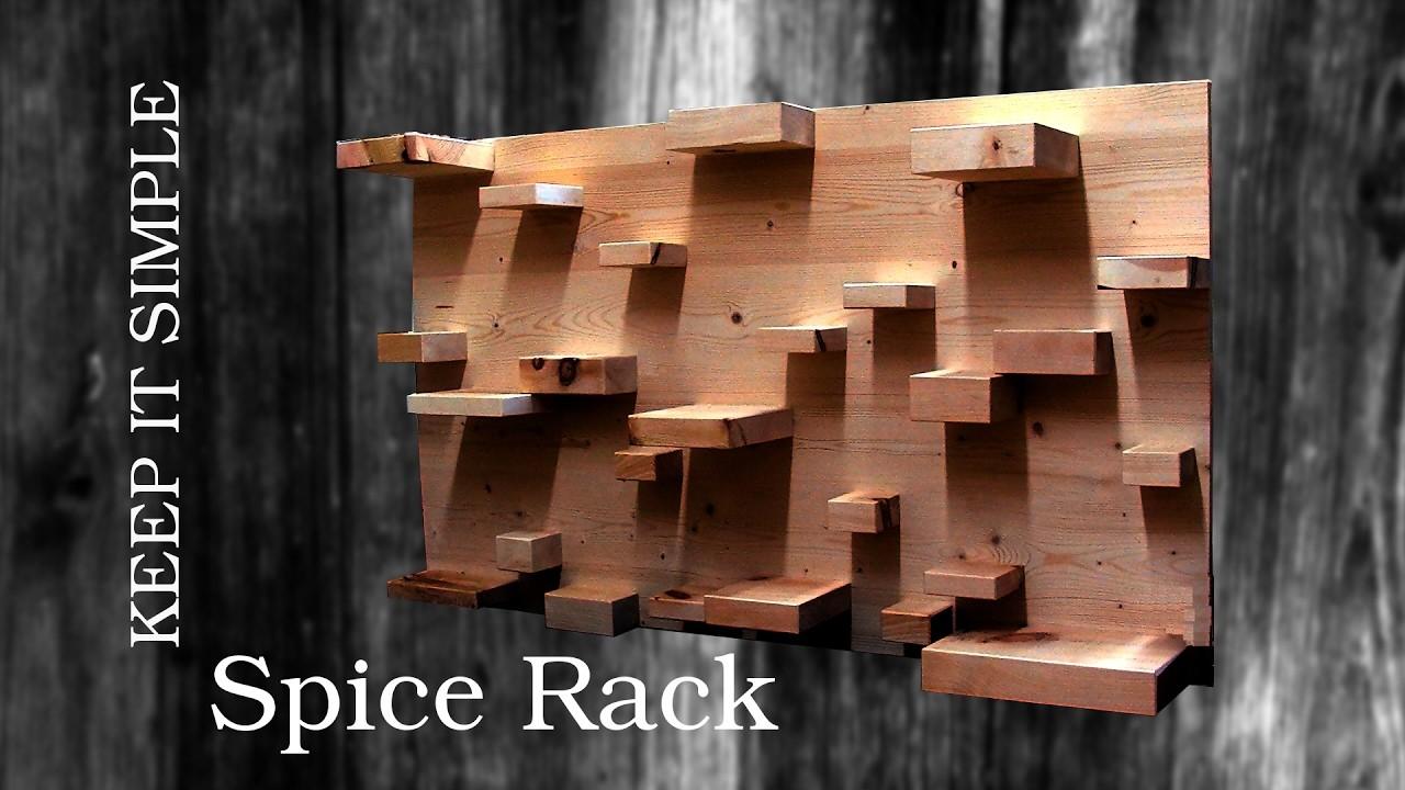 machs einfach gew rzregal diy spice rack. Black Bedroom Furniture Sets. Home Design Ideas