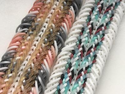 "Rainbow Loom ""Yalele"" Armband | [Hook only]"