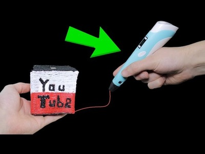 Spardose für Youtube Money mit 3D Stift malen  - DiY
