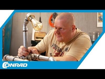 Stehlampe aus Gusseisen DIY mit Verlosung - Smart DIYs mit Stefan | Conrad