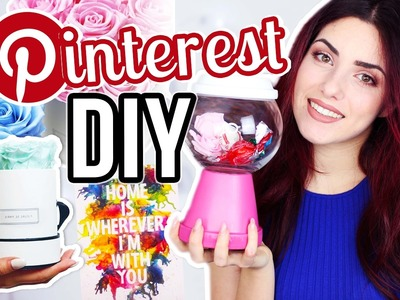 3 Pinterest DIY 's die DU SOFORT nachmachen kannst! DIY Rosenbox I Luisacrashion & I'mJette