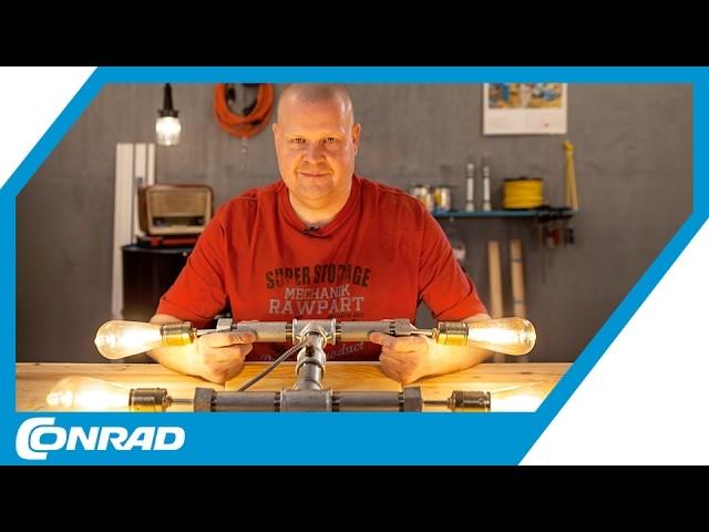 Vierflammige Hängelampe DIY mit Verlosung - Smart DIYs mit Stefan | Conrad