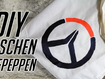 DIY Overwatch Taschen Aufpeppen