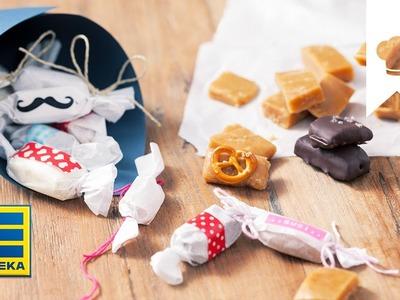Geschenke aus der Küche I Karamell-Bonbons I EDEKA