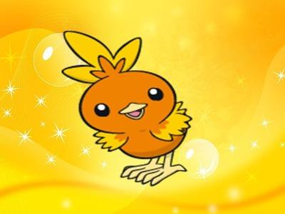 Kiiro Näht eine Pokemon Flemmli Mütze. Torchic Cap [DIY]