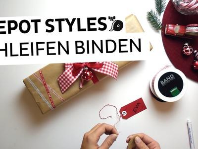 Step-by-Step Anleitung zum Geschenke verpacken   Teil 2: Schleife binden