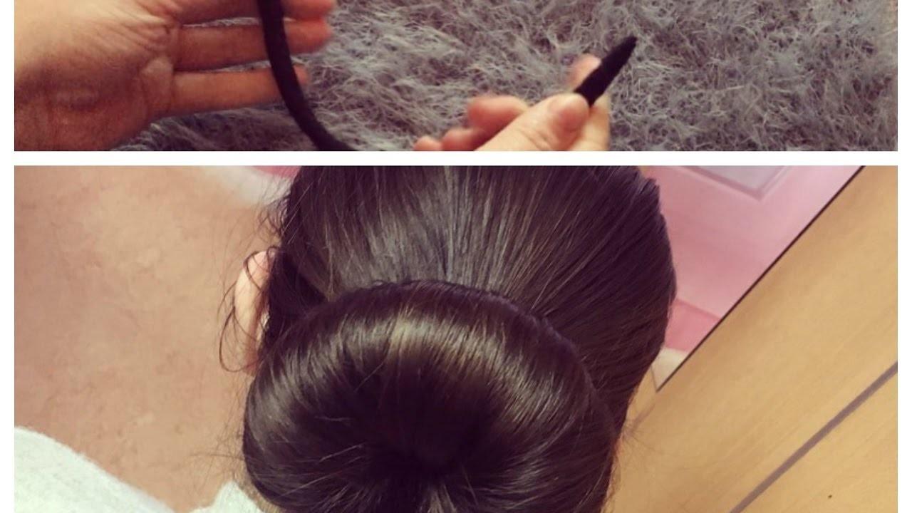 DIY Perfect Bun Helper I Helfer für den perfekten Dutt I Marina Si