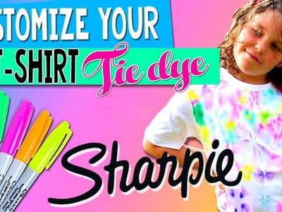 Farbstoff T-SHIRT * DIY personalisierte T-SHIRT