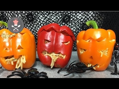 HALLOWEEN Horror Paprika | DIY Anleitung | Kikis Kitchen