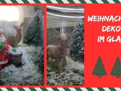 Weihnachtsdeko im Glas   Vlogmas #4