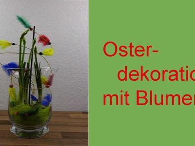DIYOsterdekoBlumendekoim Glas für Ostern❁ Deko Ideen mit Flora-Shop