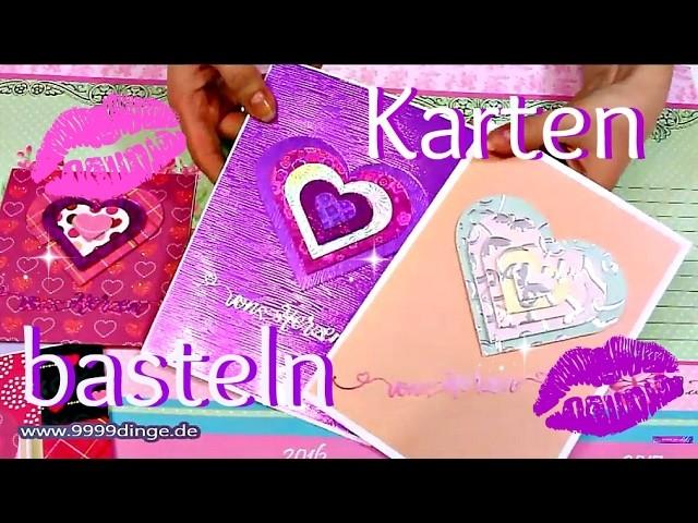 Karten Basteln Ideen Basteln Mit Papier Diy Anleitung