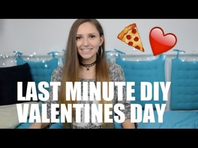 *** LAST MINUTE DIY VALENTINES DAY *** Valentinstag 14.02.2017    Adriana Leandra
