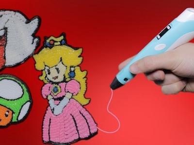 Super Mario Figuren mit 3D Stift malen - DiY ????