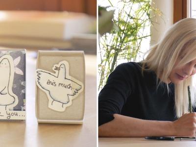 Valentinstag: Supersüße Liebesbotschaft   DIY   Jelena
