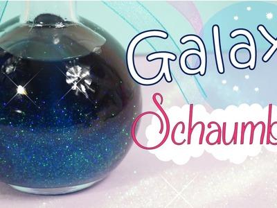 DIY Galaxy Schaumbad | Glitzer Bad | Glitzer Duschgel