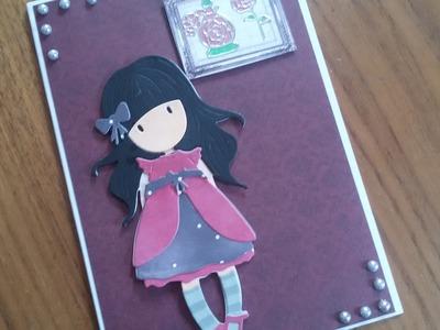 Gorjuss Week Card 1 | Gorjuss Die | DIY | Karten basteln | Basteln mit Papier | craft with Paper