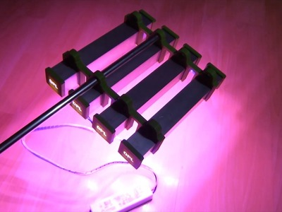 How To: DIY LED Pflanzenlicht (grow light)