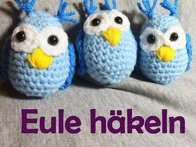 Eule häkeln - Romy Fischer Häkelanleitung