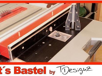 ????Frästischeinsatz für die  Kreissäge (Bosch GTS 10 XC) | Anleitung DIY #1