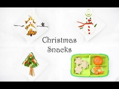 Küche Kreativ: Weihnachtssnacks für Kinder | gesunde Snacks | Mama Kreativ