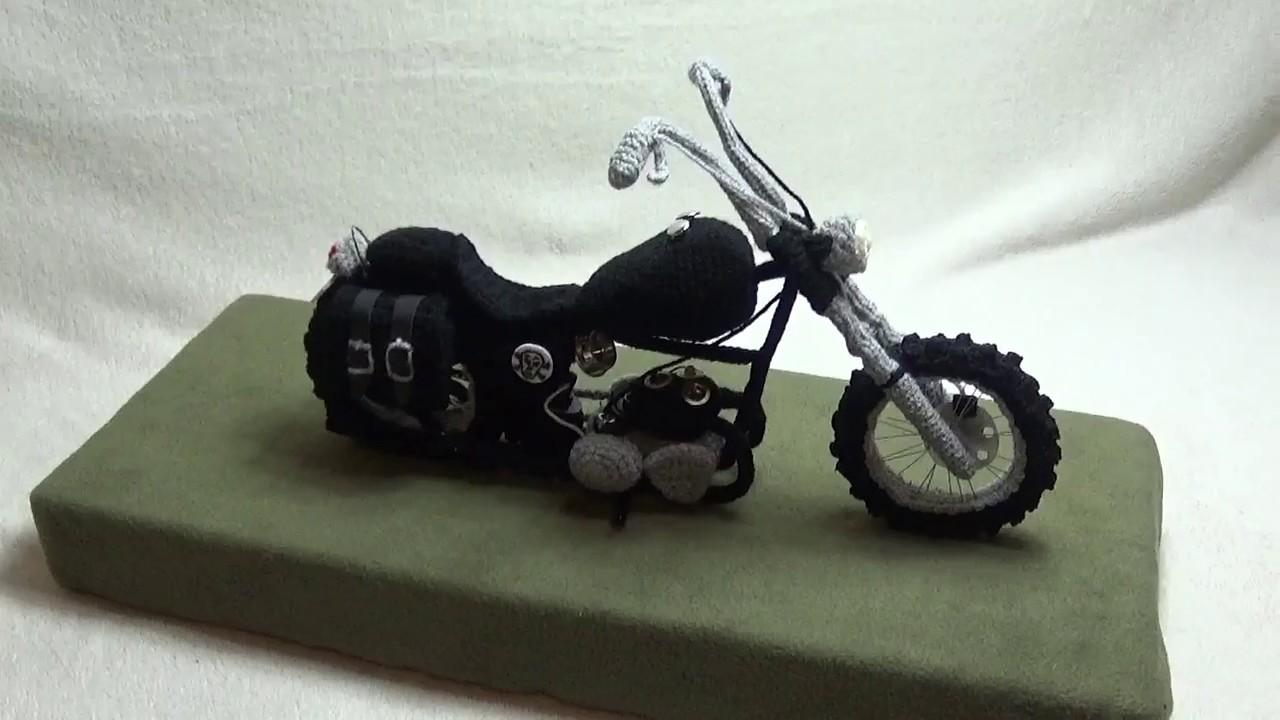 Motorrad Häkeln Youtube Tutorial The Walking Dead Bike Von Daryl