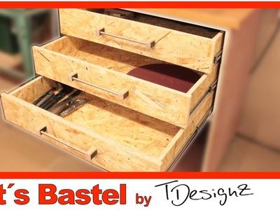 Stabile Schubladen und Griffe einfach und schnell selber machen | Anleitung DIY #1