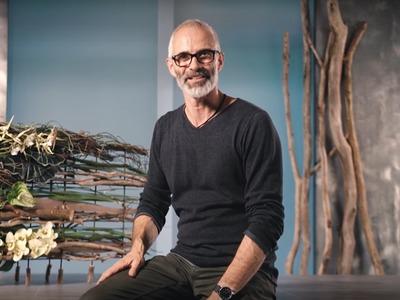 DIY Floral Living: Klaus Wagener stellt die Idee für ein dauerhaftes Werkstück vor