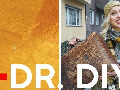 Erste Hilfe: Kratzer & Dellen im Parkett | DIY | Jelena