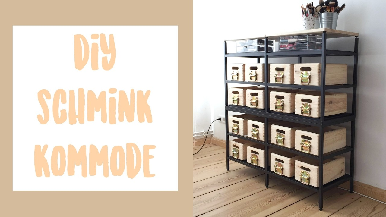 meine diy schminkkommode g nstig einfach ikea hack. Black Bedroom Furniture Sets. Home Design Ideas