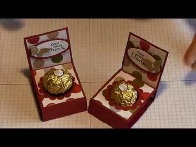 Ferrero Rocher Verpackung mit Stampin Up