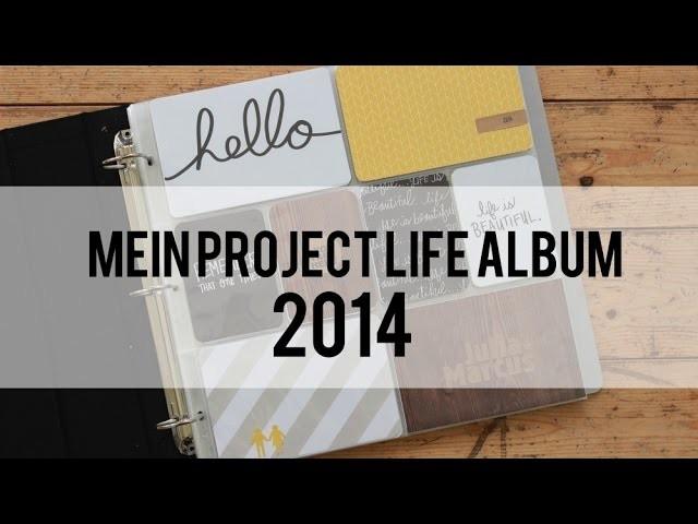 Mein Project Life Album 2014
