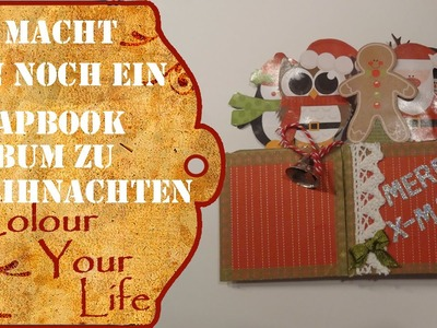 Mini Scrapbook album für Weihnachten Last Minute #2