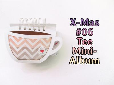 [X-Mas #06] Tee Mini-Album | Geschenkverpackung für Tee | Geschenk Tipp