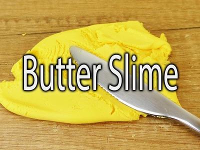 BUTTER SLIME DIY | gelben streichfähigen Schleim selber machen
