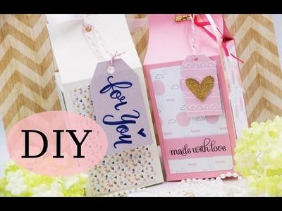 DIY Box - Tutorial - Verpackung selber basteln - Anleitung - Crafts DIY - How to make a box