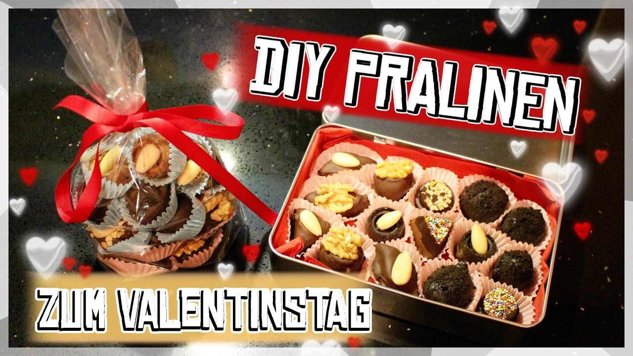 DIY Pralinen zum ❤ Valentinstag ❤