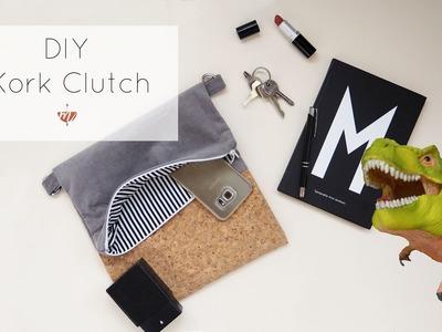 Handtasche selber nähen mit Korkstoff: Eine Anleitung für Anfänger | #naehdirwas | Mohntage