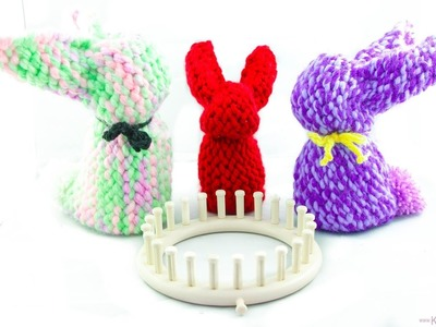 Knitting Loom - Strickring Osterhase | Hase | Bunny