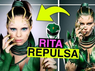 POWER RANGERS - RITA REPULSA - Makeup & DIY Kostüm