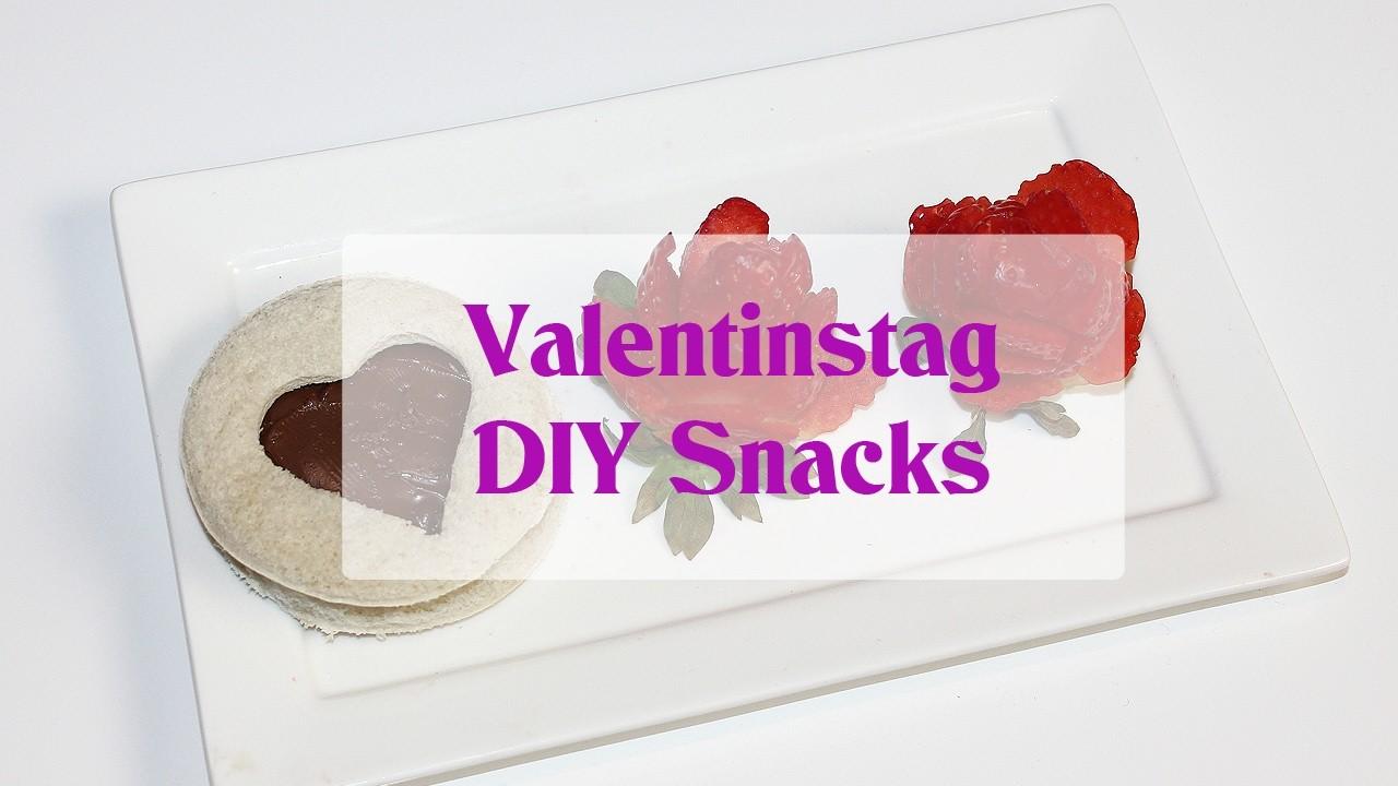 Valentinstag   DIY Snacks