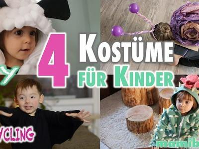 4 Kostüme für Kinder ohne Nähen | DIY | Upcycling | mamiblock