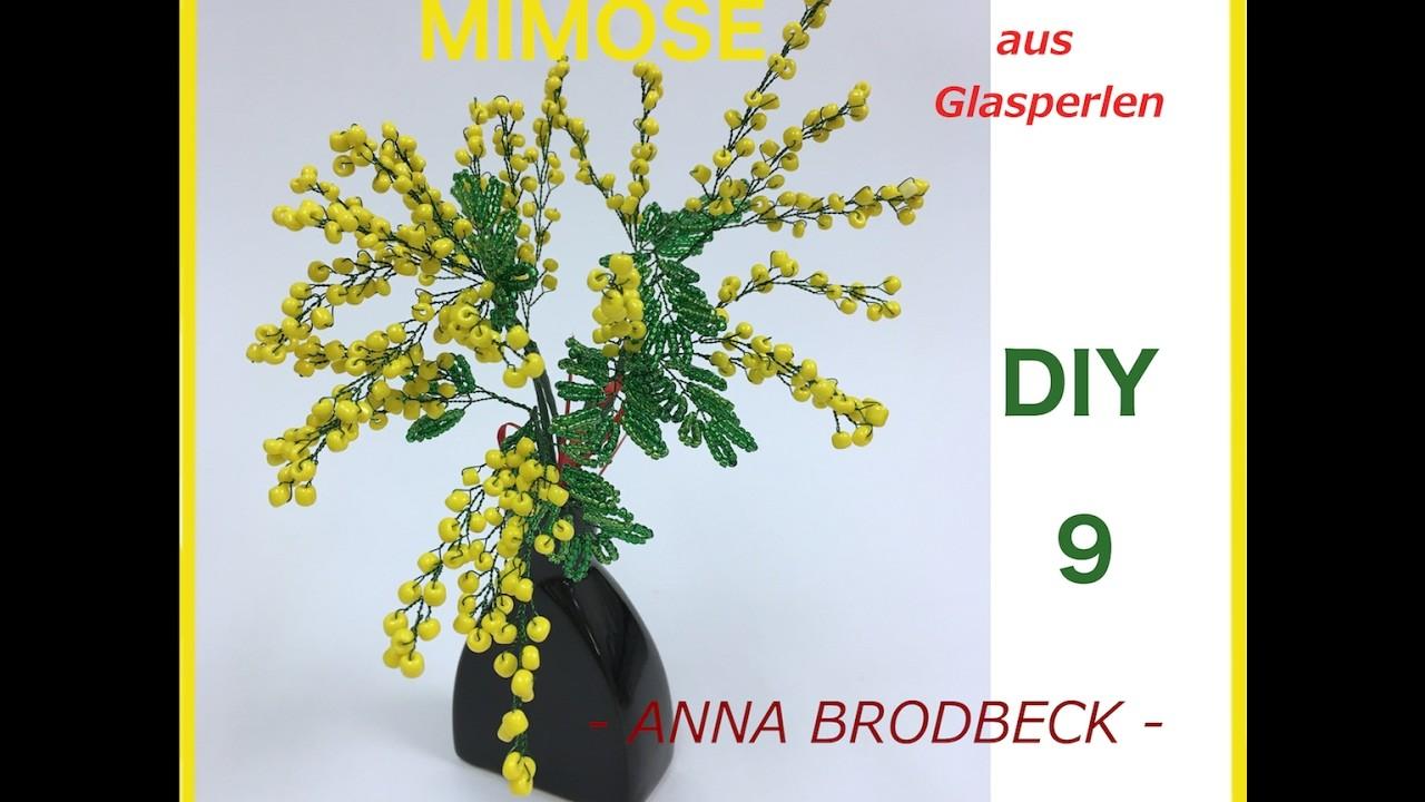 MIMOSE aus GLASPERLEN. Annonce DIY (DVD9)