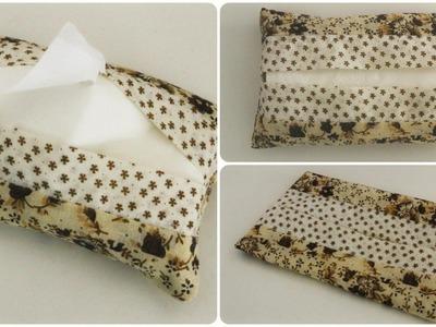 Taschentüchertasche * DIY * Tissue Box [eng sub]