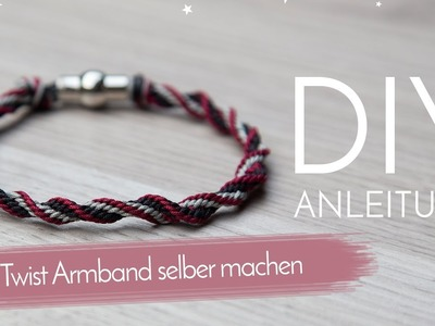 Twist Armband selber machen DIY Anleitung Schmuck