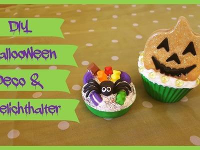 DIY - Halloween Deco und Cupecake Teelichthalter
